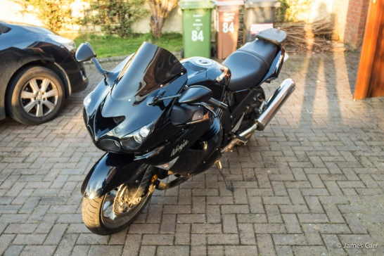 Kawasaki ZZR1400 - 2008 model - Bike 12 (Current Bike)