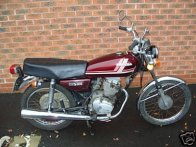 Honda CG125 - 1980 model. My first bike