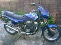 Honda VT500E - bike number 2