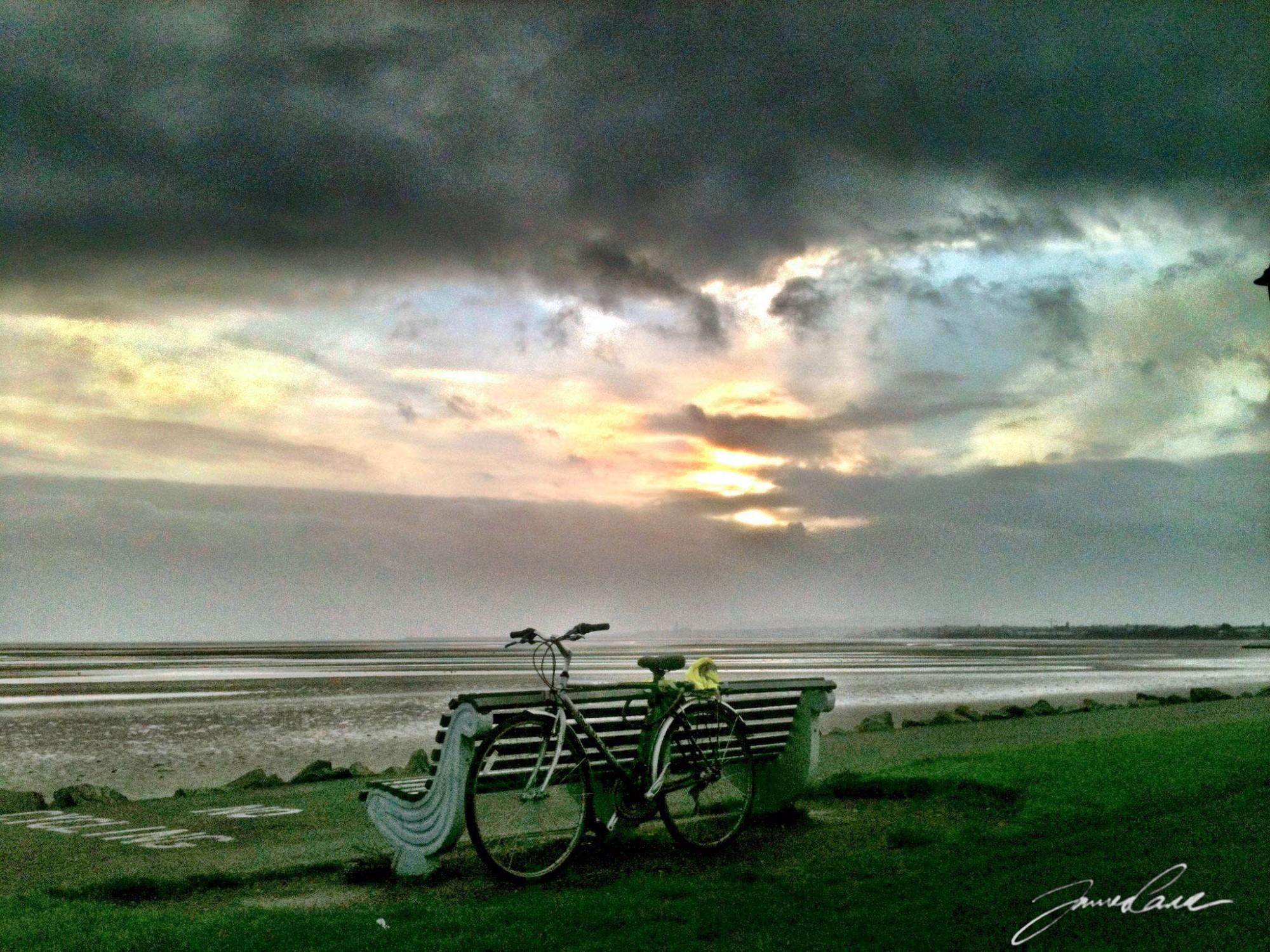 Bike at Sandymount seafront
