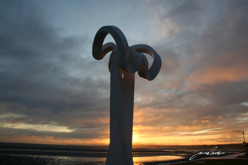 monument at sandymount strand