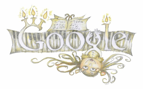 design for Doodle4Google, by Anya Clarke-Carr, age 8