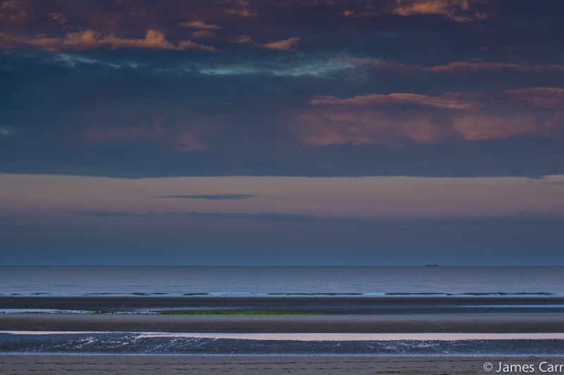 Sunset 1, Oriel Cove. 28/07/14. 9.19pm