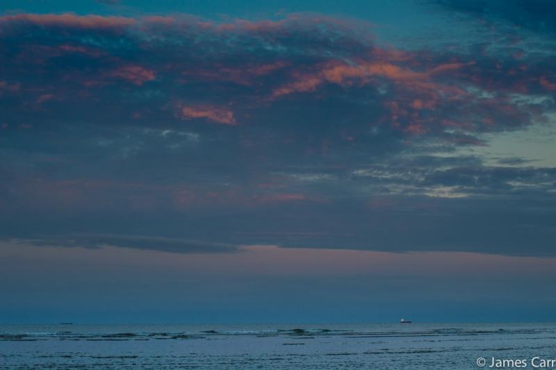 Sunset 2, Oriel Cove. 28/07/14. 9.19pm