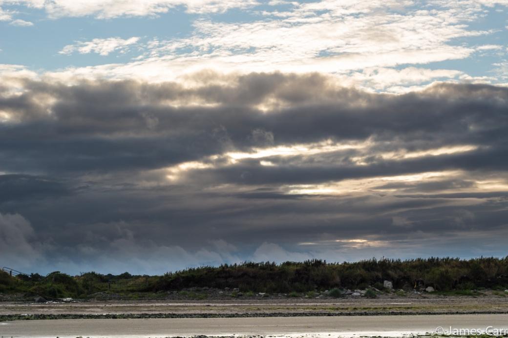 Cloud drama. Termonfeckin beach, Co. Louth