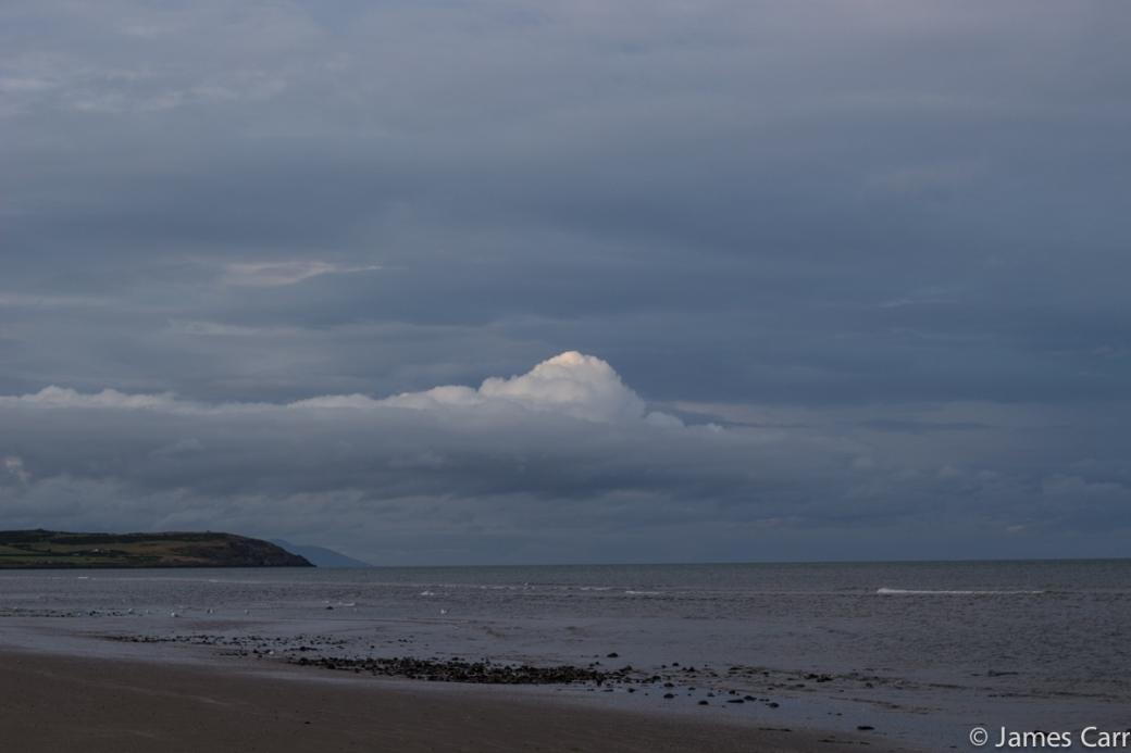 Cloud bump. Clogherhead, Co. Louth