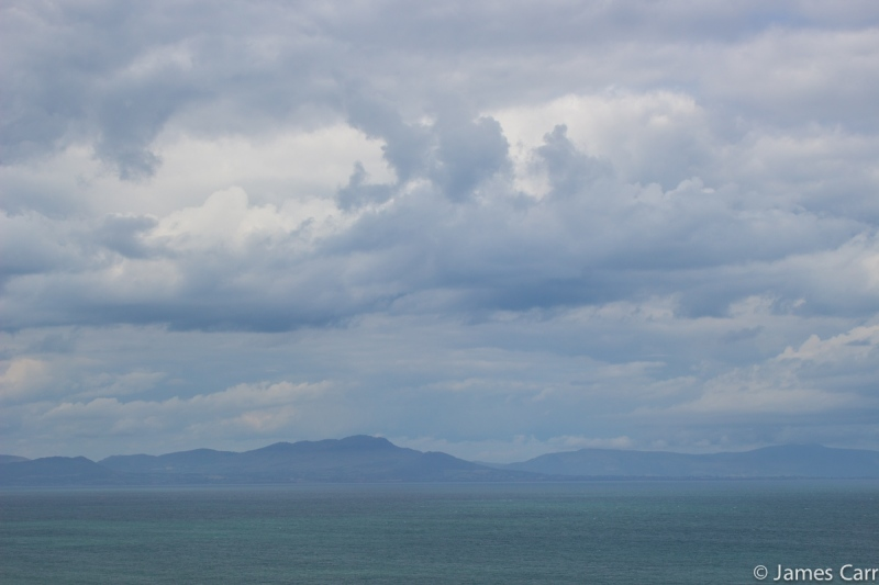 Mourne Mountains, from Port Oriel Harbour, Co. Louth