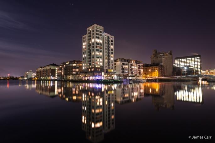 Grand Canal Dock, monday 2nd Feb 2015