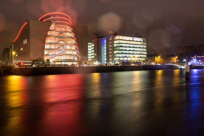 Rainy night, Convention centre, friday 23rd Jan 2015