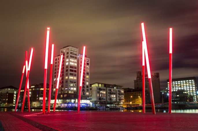 Grand Canal Square, Tuesday 27th Jan 2015