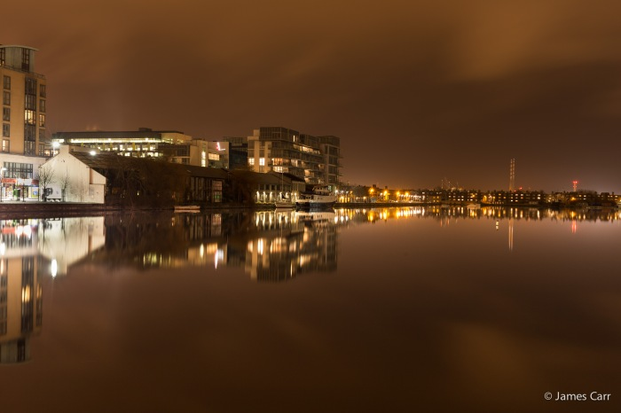 Grand Canal Dock, Friday 6th Feb 2015