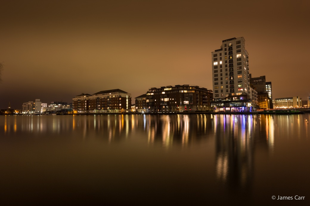 Grand Canal Dock, Monday 9th Feb 2015