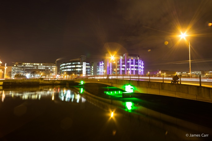 Talbot Memorial Bridge, Dublin, Friday Feb 13th 2015