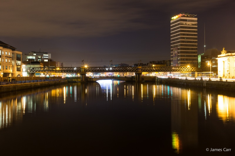 Liberty Hall and Butt Bridge, Friday Feb 13th 2015