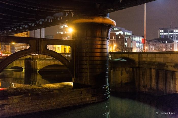 Under Butt Bridge, Dublin, Friday Feb 13th 2015