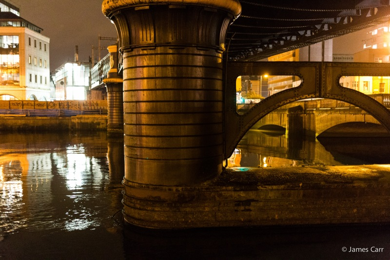 Under Butt Bridge, Dublin, Friday Feb 13th 2015