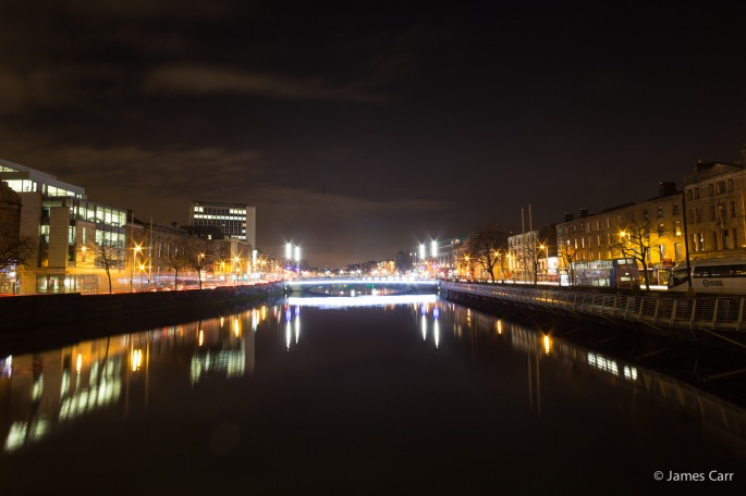 Rosie Hackett Bridge, Dublin, Friday Feb 13th 2015