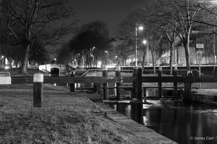 Grand Canal, near the Schoolhouse on Northumberland Road, 17 Feb 2015