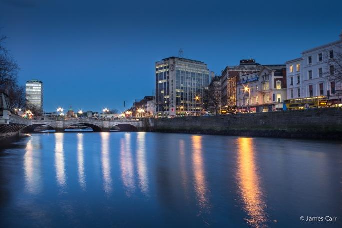 O'Connell Bridge, Friday 30th Jan 2015